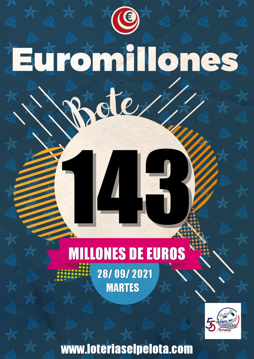 """Featured image for """"Apuntate a la Super Peña del Euromillon(28/09/21)"""""""